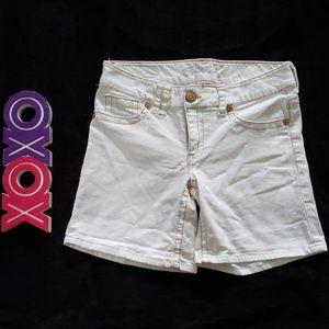 SEVEN 7 white jeans shorts